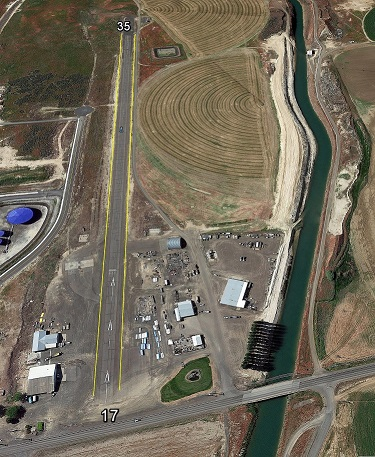 March 2018 Warden Airport Aerial Photo - Smaller Size