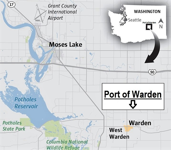 Port of Warden Map